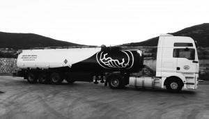 Camión sistema anti-fraude