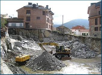 Movimientos tierra Sierra Guadarrama